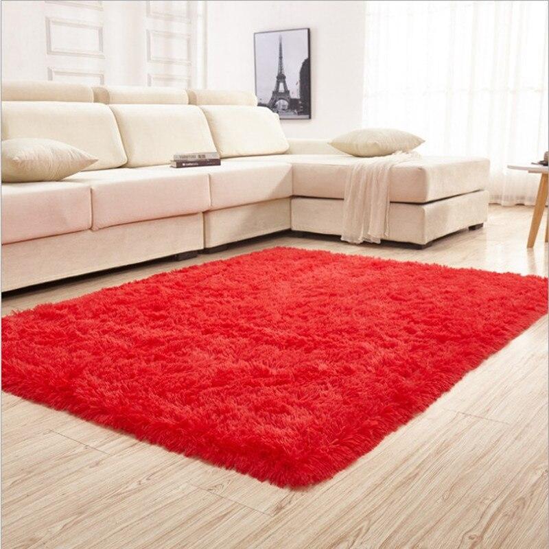 120*200*4.5 cm épais lavable soyeux salon chambre tapis Simple et élégant livraison gratuite