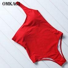 OMKAGI Costumi Da Bagno Femminile di Un Pezzo del Costume Da Bagno Delle Donne Maillot De Bain Femme Fuso Monokini Costume Da Bagno di Nuoto Beachwear Body e Tutine