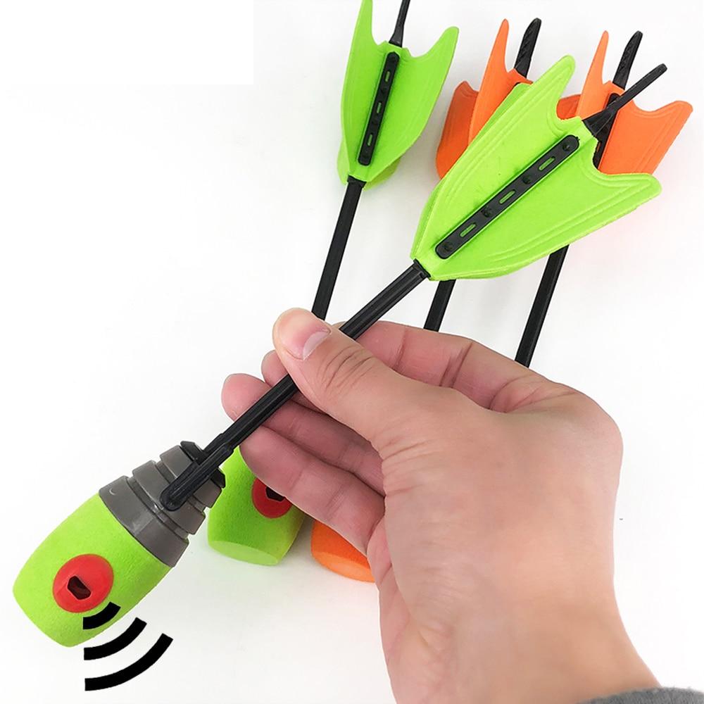 6/12/24 Pcs Child Sucker Arrow Length 24 Cm Whistling Children's Arrow For Child Bow Practice Equipment Toy Gift