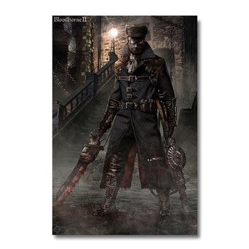 Плакат гобелен bloodborne Шелк вариант 4