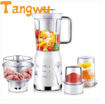 Free shipping Household multi-function food processor mixer Hank was crushed ice wavelets processor