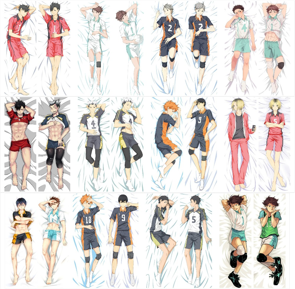 Decorative Body Pillow Anime : Aliexpress.com : Buy New Haikyuu Japanese Anime Hugging Body Pillow Cover Case Decorative ...