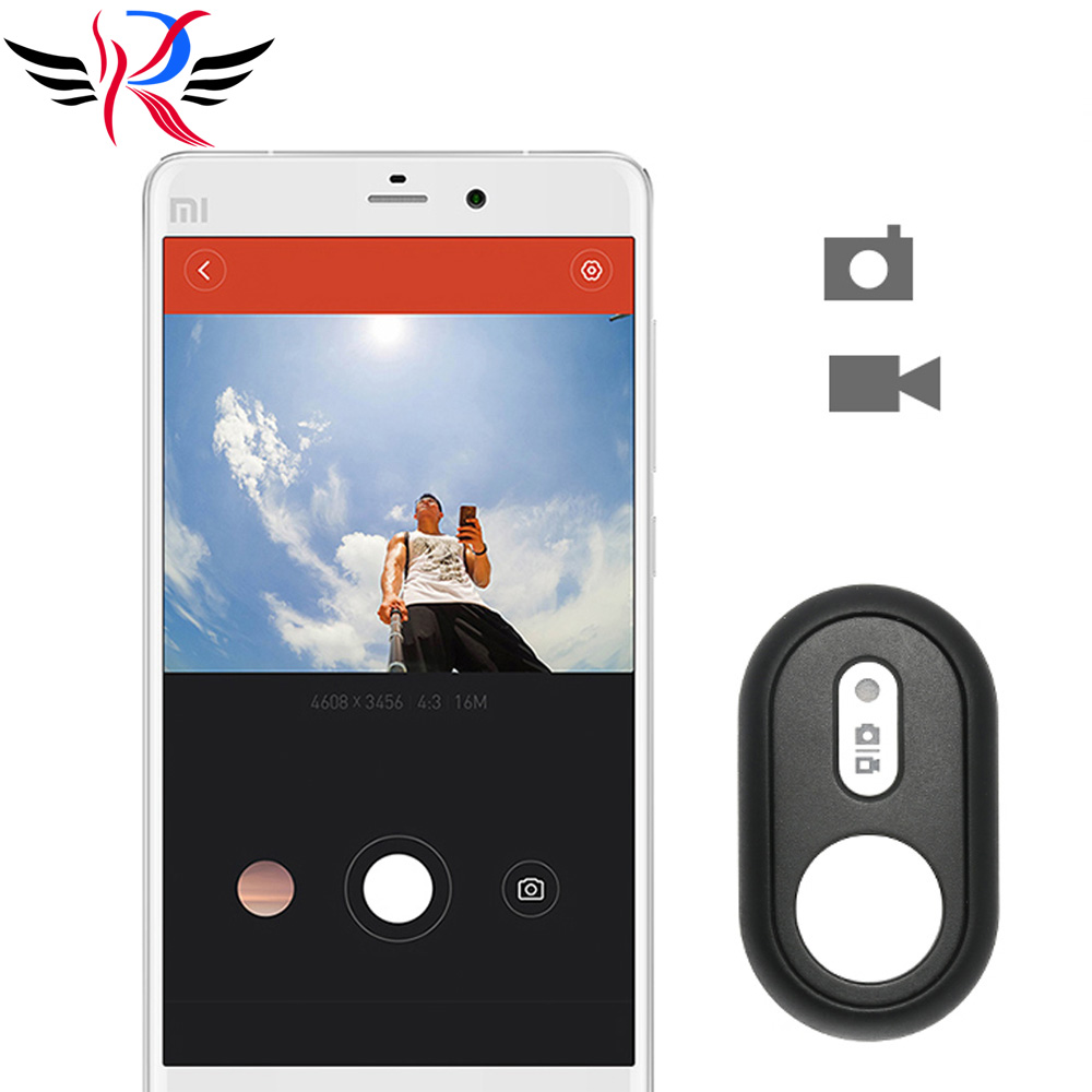 Universale Bluetooth Remote Controller per Xiaomi Yi 4 K Bluetooth Camera Shutter per Xiaomi Yi II Action Camera