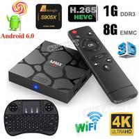 Original M96X MINI Android TV Box 1G 8G Amlogic S905X Quad Core Android 6 0 4K