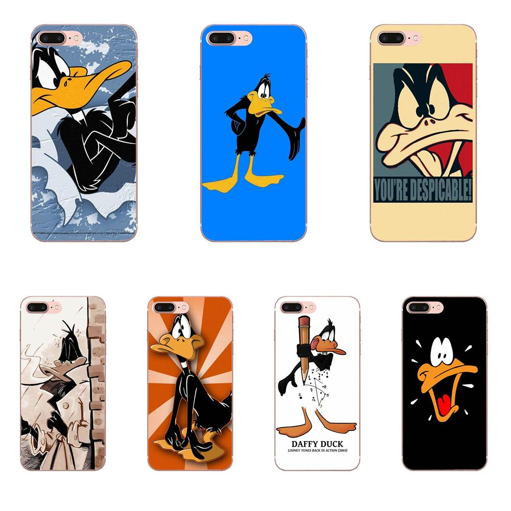 Daffy Duck For <font><b>Samsung</b></font> Galaxy Note <font><b>5</b></font> 8 9 S3 S4 S5 S6 S7 S8 S9 S10 mini Edge Plus Lite Novelty Fundas Phone Case Cover image