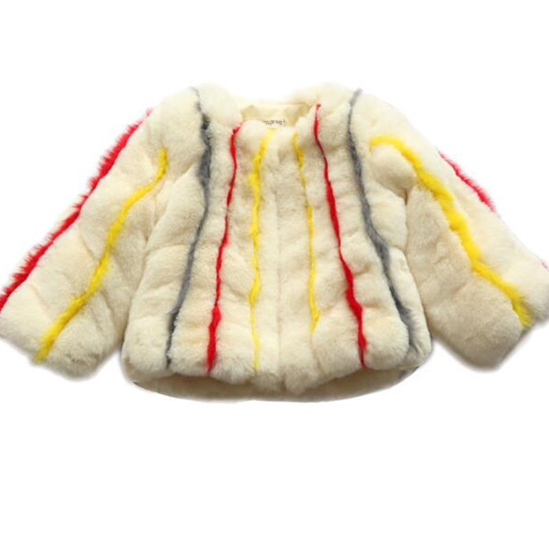 Girls Warm jacket Imitation rabbit fur grass coat 2018 New children girl thickening jacket autumn and winter children's girls co girls coat autumn and winter thickening children s fur 2018 new korean version of the girl warm jacket children coats fpc 169