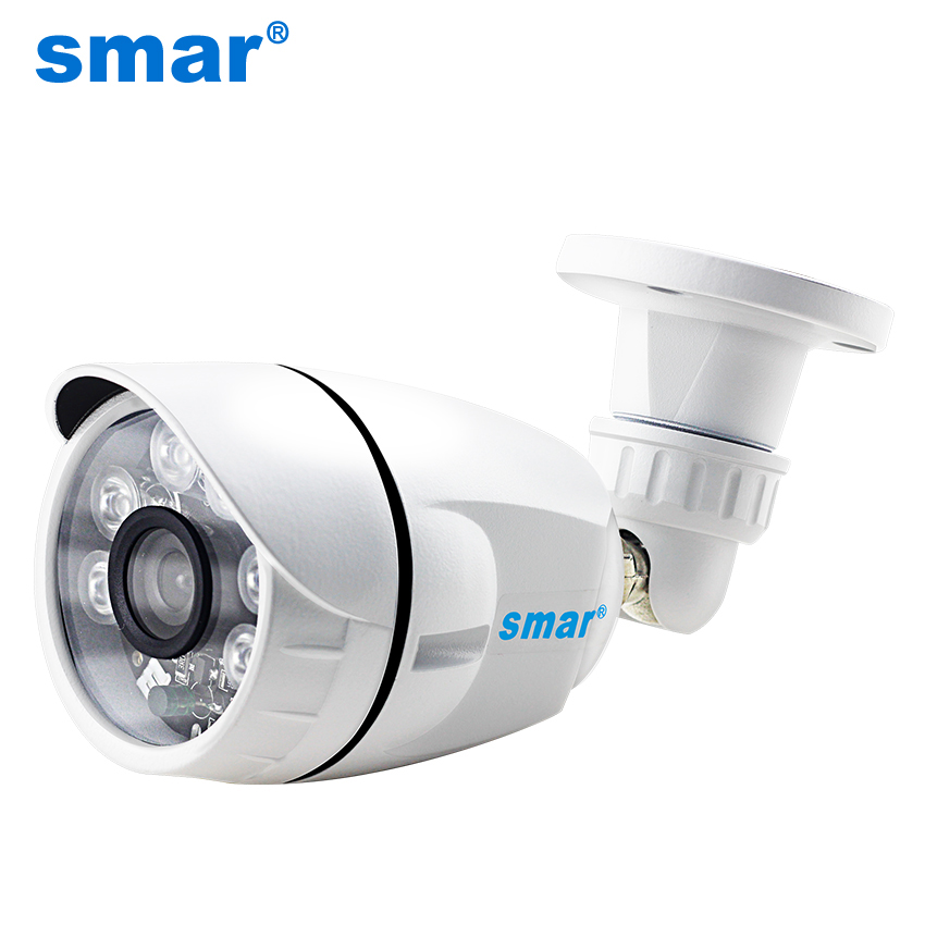 Smar HD IP Camera 720P 1080P Outdoor Waterproof Home Security CCTV Camera 6 Nano IR Leds Night Vision Bullet Camera Onvif P2P 1080p hd cctv ip camera ip65 waterproof p2p onvif ir night vision security surveillance video mini bullet camera free shipping