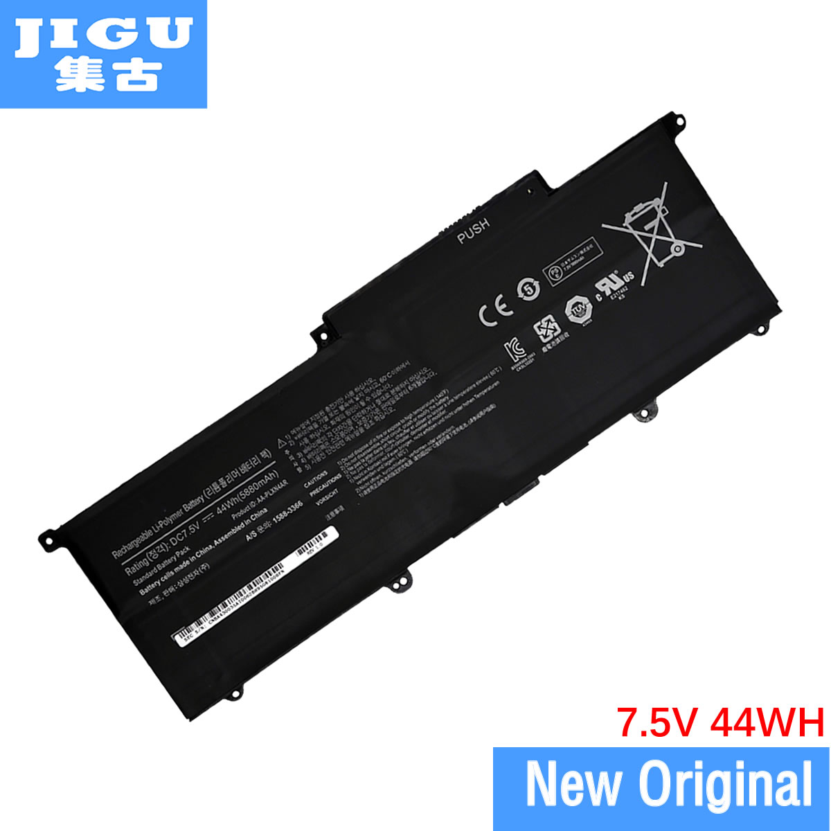 JIGU AA-PLXN4AR Original Laptop Battery For SAMSUNG Ultrabook 900X3C 900X3D 900X3E NP900X3C NP900X3D NP900X3E 7.5V 44WH new for samsung np900x3b np900x3c np900x3d np900x3e 900x3b 900x3c 900x3d 900x3e keyboard backlit portugal no frame big enter