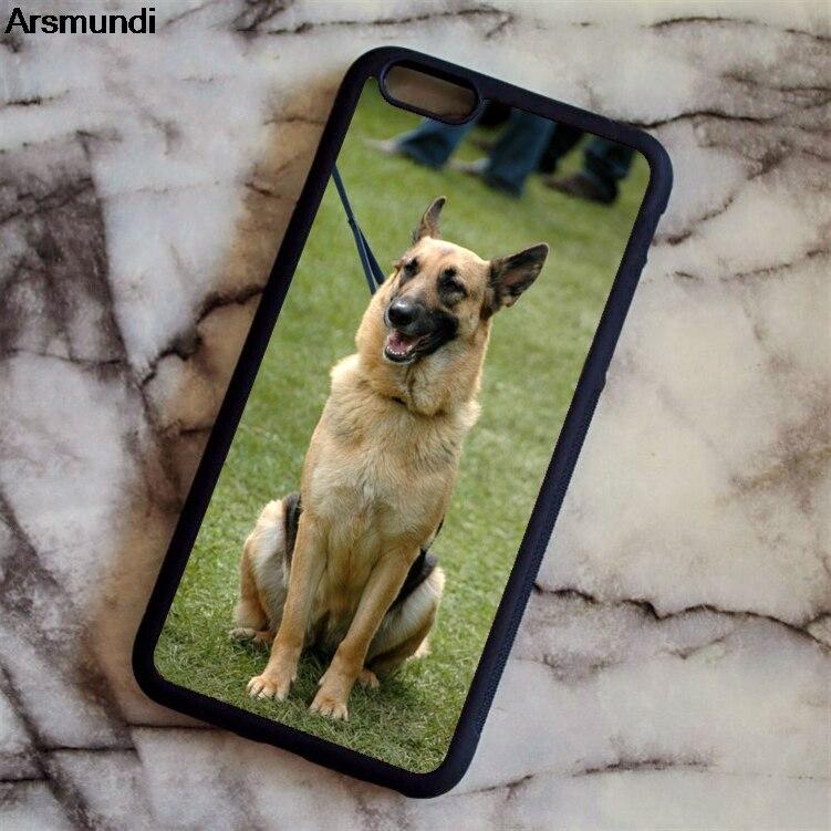 Arsmundi прекрасная собака Пособия по немецкому языку овчарка щенок Телефонные Чехлы для Iphone 4 5 6 S 7 X для Samsung чехол мягкий ТПУ Резиновая силикон...