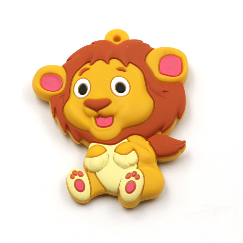 JOJOCHEW סיליקון אריה teether חרדל צהוב חרוזי - טיפול בתינוק