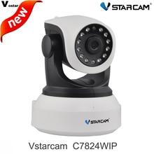 Vstarcam Onvif 2.0 720 P C7824WIP Ip-камеры, Беспроводные Wi-Fi Камеры ВИДЕОНАБЛЮДЕНИЯ HD Крытый Pan/Tilt ИК Ночного Видения Поддержка 64 Г SD Карты