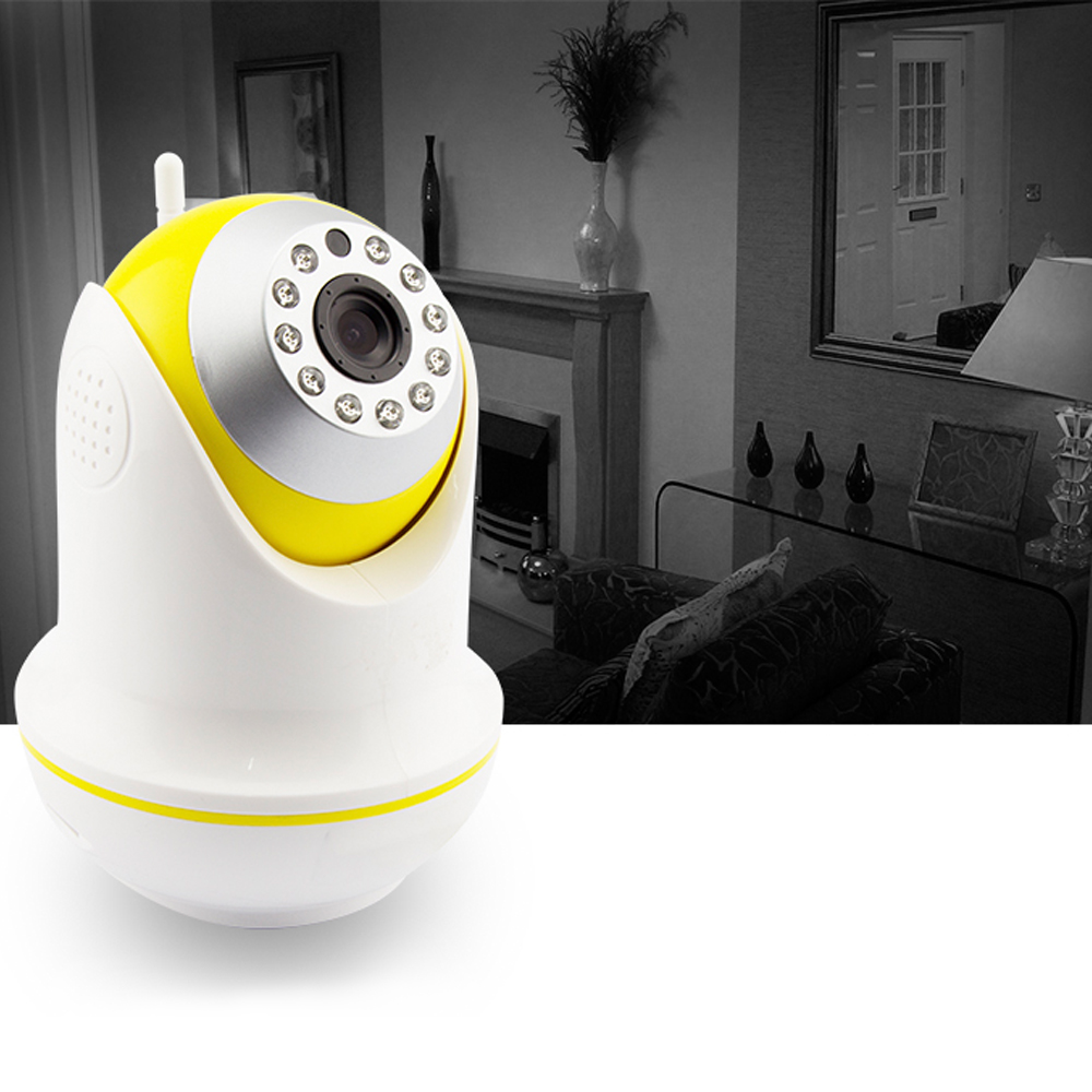 PUAroom indoor ptz network diy home security wifi wireless cctv security ip camera (3)