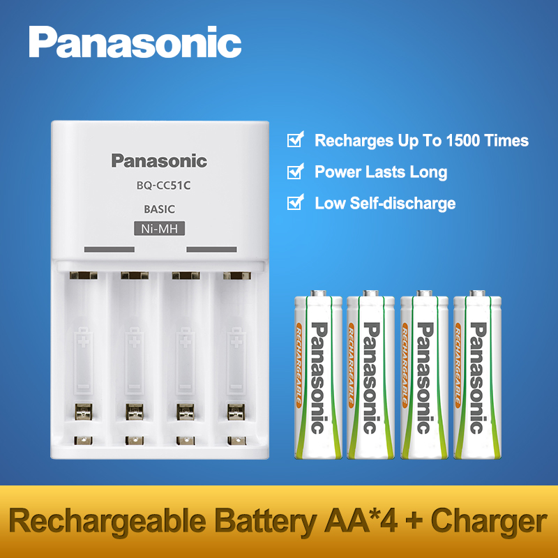 2018 New Arrivals Original Panasonic AA Batteries Charger Sets Top