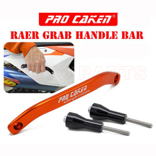 Passenger Grab Handle Bar Rear Rail Handle For 125 150 250 350 450 500 SX SXF EXC EXCF XC XCF XCFW Six Days XCW 2016-2018 motorcycle grab handle bar rear seat pillion passenger grab rail handle for ktm 125 250 300 350 450 500 exc sx excf sxf 16 17
