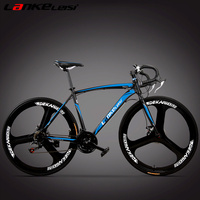 RS600R 21 27 Speed Road Bike Both Disc Brakes Integrated Wheel High Quality Bicycle Magnesium Alloy