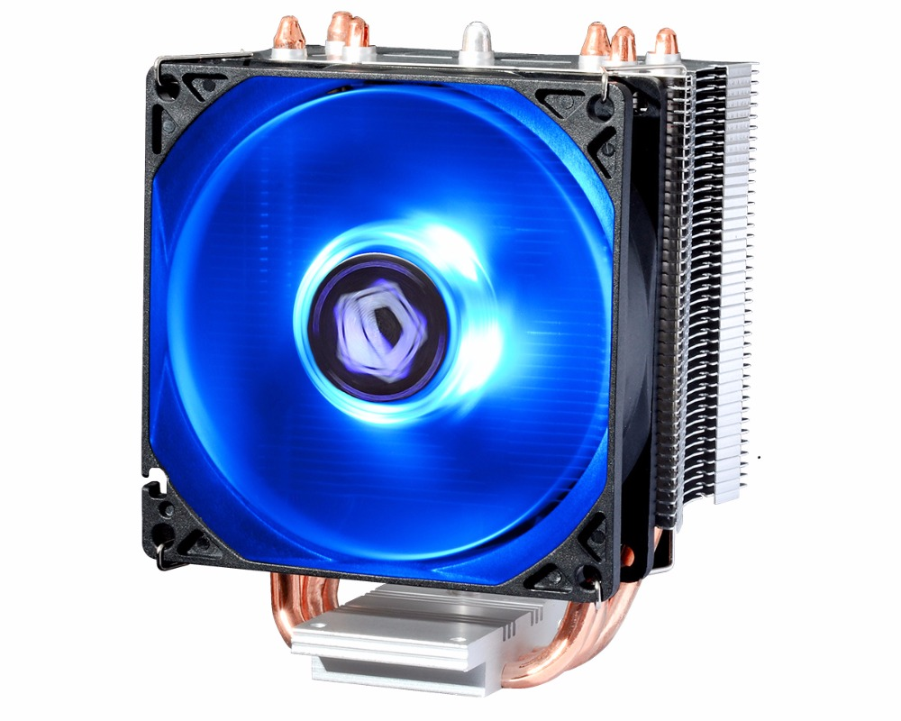 ID-COOLING SE-913X 92mm Fan Intel CPU Processor 3 Copper Heatpipe Cooling Fan  LGA1150 1155 1151 1156 contain Thermal Grease cpu cooling conductonaut 1g second liquid metal grease gpu coling reduce the temperature by 20 degrees centigrade