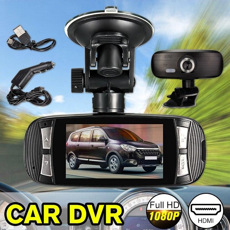 New 2.7Inch HD 1080P G1W Car Dash Camera DVR Cam Night Vision Video Recorder G-sensor Driving Camcorder Rear View Dash Cam