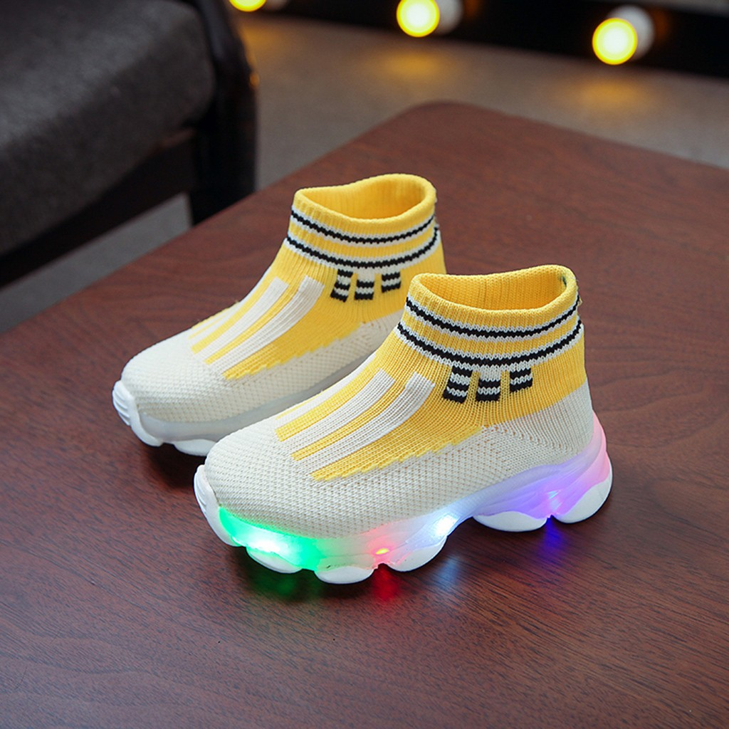 LED Breathable Socks Sneakers 3