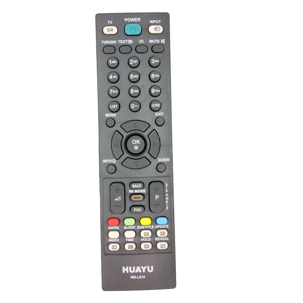 RM-L810 For LG TV Remote Control Replace MKJ32022838 MKJ32022826 MKJ32022830 6710900010S 6710T00019F 6710900011N 6710V00141A