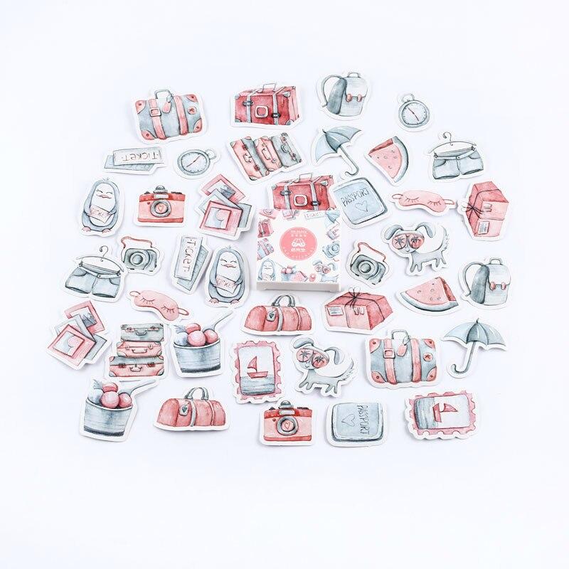 Mr. Бумаги 40 шт./кор. конфеты сказки деко наклейки для дневника Скрапбукинг планировщик японский Kawaii Декоративные Канцелярские наклейки - Цвет: G