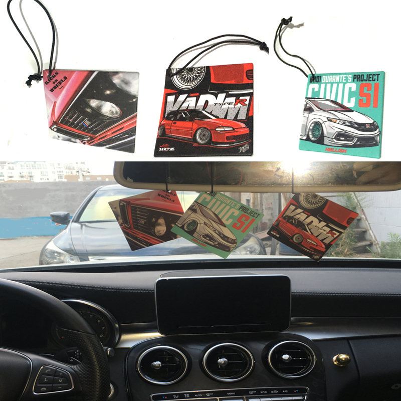 Hot Sale Jdm Style Car Air Freshener Perfume Smell Car Accessories