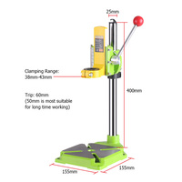 Electric power Drill Press Stand table for Drills Workbench Clamp for Drilling Collet 35 43mm 0 90 degrees