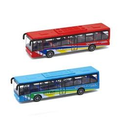 PengHui Toys City Tour Bus Diecast Model 1:50 Blue