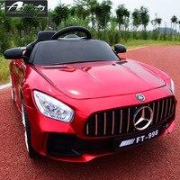 Ездить на автомобиле новые детские 2,4 г дистанционное управление электрический автомобиль четыре колеса двойной привод игрушка для раннег...