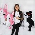 28'' / 70cm 2 pcs Giant Stuffed Cute Plush Large Cartoon Monokuma and Monomi Toy, Nice Gift, Free Shipping