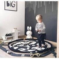 140CM Baby Play Mat Game Blanket Toys Storage Bag Toddler Baby Climb Mat Floor Play Carpet