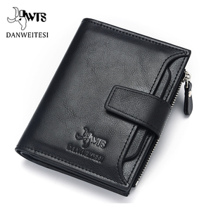 DWTS brand Wallet men leather