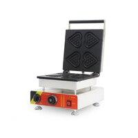 상업용 와플 메이커 1500 w 전기 와플 베이킹 머신 비 스틱 와플 제작 장비 NP-511