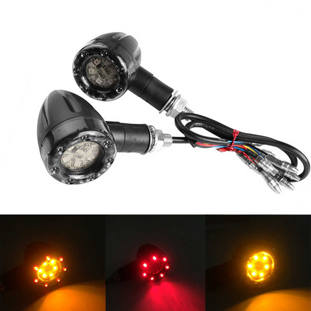hight resolution of universal motorcycle turn signal light brake light for suzuki gladius 650 bandit 600 gsf 1250s for