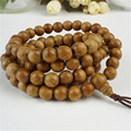 Women Men Fashion Jewelry Stretch Bracelet Bless You 9mm 108 Beads Agarwood Aloeswood Budda Wood Prayer Round Bead Bracelet