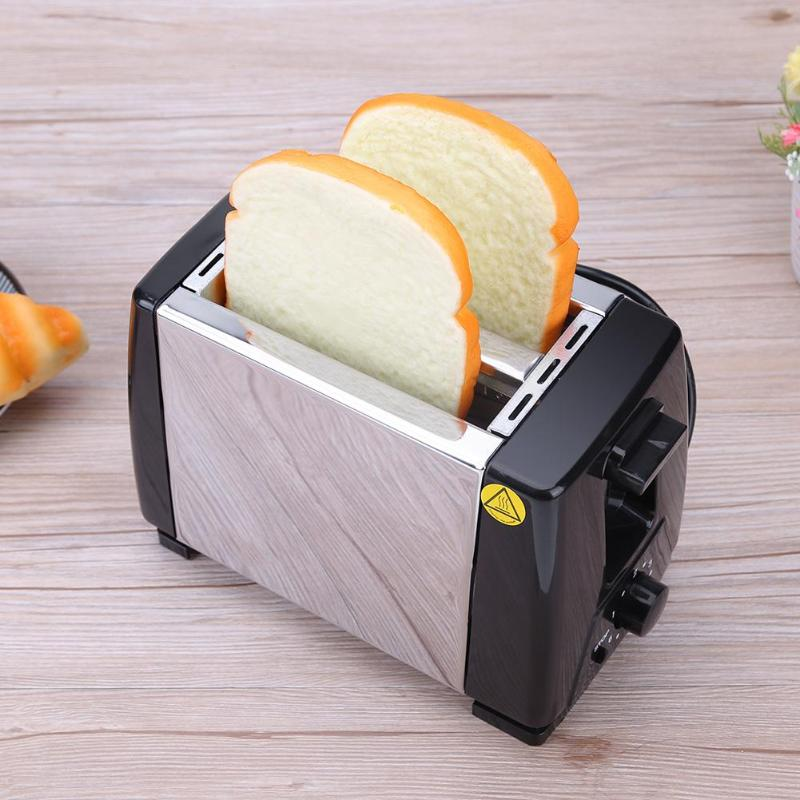 Alloet 220V Bread Machine Baking Stainless Steel Bread Maker Machine Automatic Toaster Bakery Bread Cooking Tool for Breakfast цена 2017