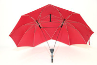 Fashion Couple Umbrella Personality Two Head Double Size Tall Umbrella Super Cool Valentine Gift Lover Gift