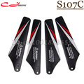 Free shipping Wholesale SYMA S107c  spare parts Main Blades S107c-02 for S107c RC Helicopter from origin factory
