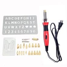 110v 0-15-30w Us Plug Pyrography Wood Burning Craft Woodburning Pen Adjustable Temperature Pyrography Tool.