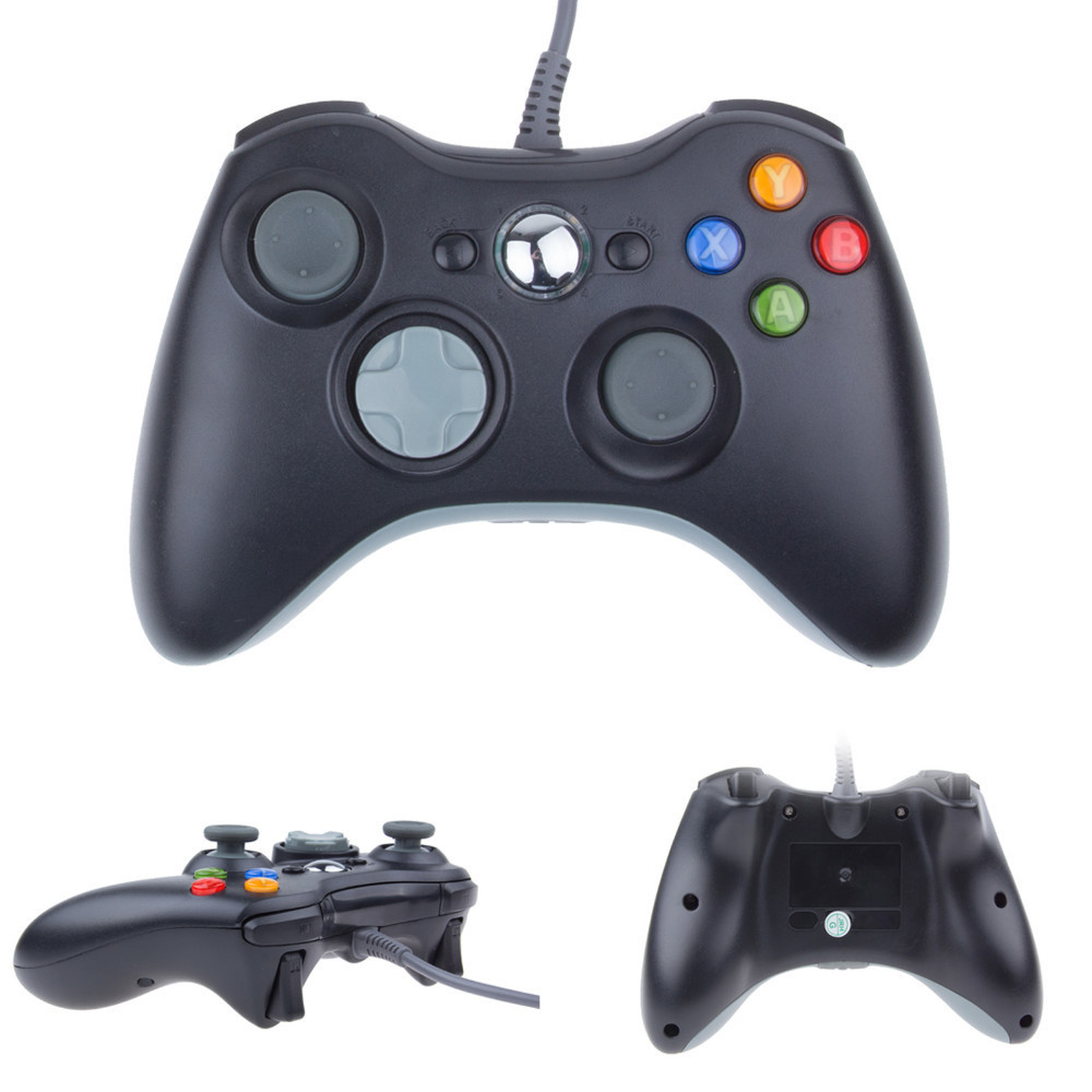 DBPOWER USB Wired Gamepad Control For xbox360 Gamepad Joypad ...