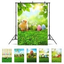 봄 초원 eatser 계란 비닐 헝겊 사진 배경 사진 스튜디오에 대 한 사용자 지정 된 사진 배경 아기 아이 photophone