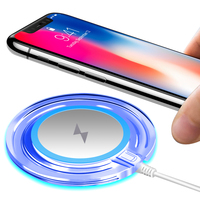 Twitch Mini Wireless Charger USB Charge Pad For IPhone X 8 Plus Samsung Galaxy S8 Plus