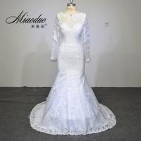 Vestido de noiva 2017 elegant wedding gowns bridal dresses popular vintage mermaid long sleeves lace wedding.jpg 200x200
