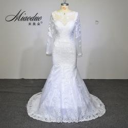 Vestido de noiva 2017 elegant wedding gowns bridal dresses popular vintage mermaid long sleeves lace wedding.jpg 250x250
