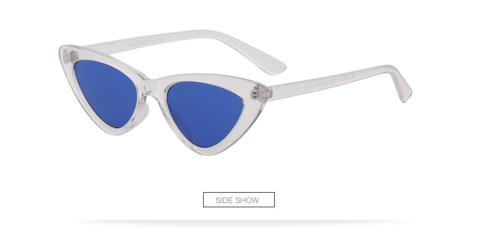 HTB1oCt7lLBNTKJjSszbq6yFrFXaE - Winla Fashion Design Cat Eye Sunglasses Women Sun Glasses Mirror Gradient Lens Retro Gafas Eyewear Oculos de sol UV400 WL1127