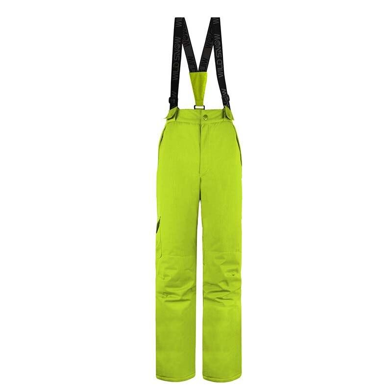 Femmes hiver Sports de neige imperméable coupe-vent pantalon garder au chaud pantalon 100% Polyester respirant femmes ski snowboard pantalon - 6