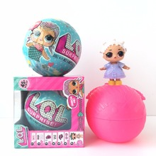 LOL Boneca Doll in Ball Suprise font b Toys b font Series 1 Series 2 Little