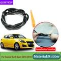 Автостайлинг для Suzuki Swift Sport 2010-2018 анти-звуконепроницаемые не пропускающие шума пылезащитные автомобильные приборные панели лобовое стекло...