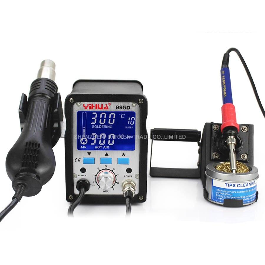Électrique à souder station thermostat de Poche mini fer à souder station YIHUA-995D