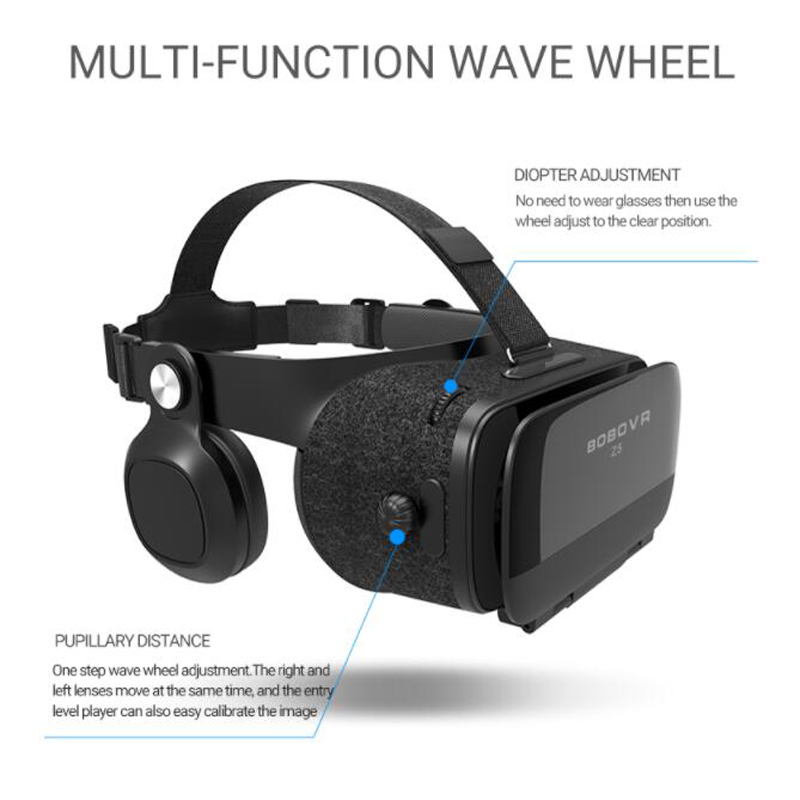 Bobovr Z5 Virtual Reality VR Glasses And 3D Headset Helmet Goggles For iPhone Android | GeekyViews