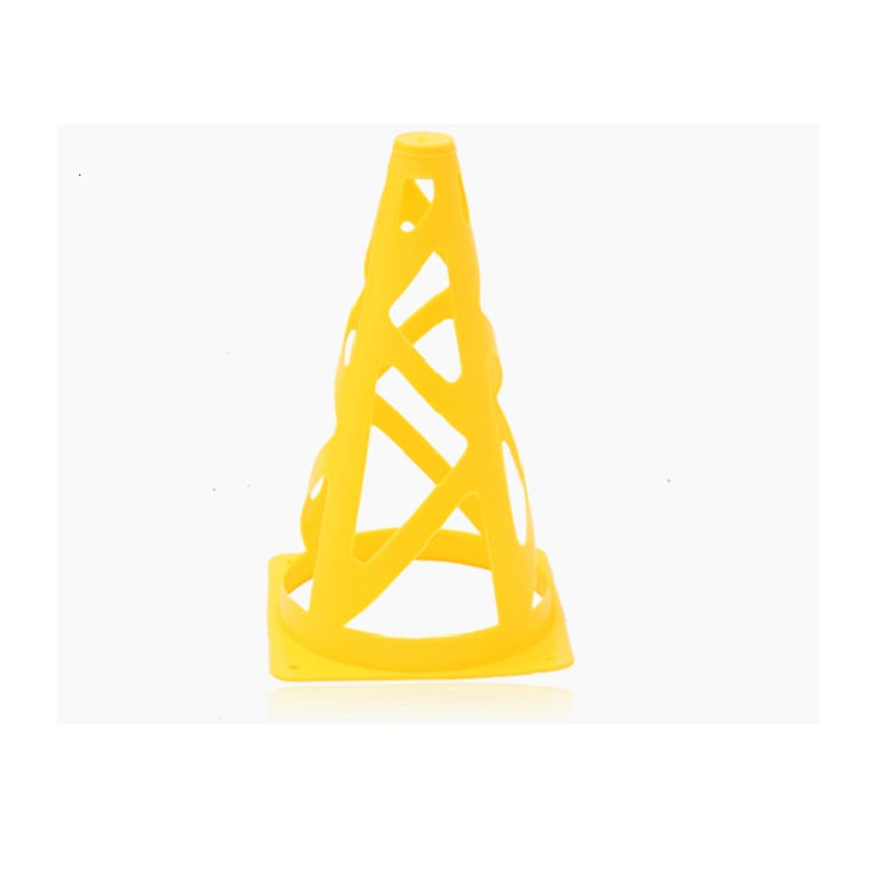 23cm Soccer cones windproof road sign hollow out barrier training speed exerciser roadblock Football training cone